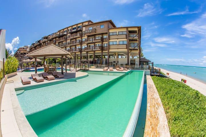 Barra Bali: condomínio resort beira-mar do paraíso