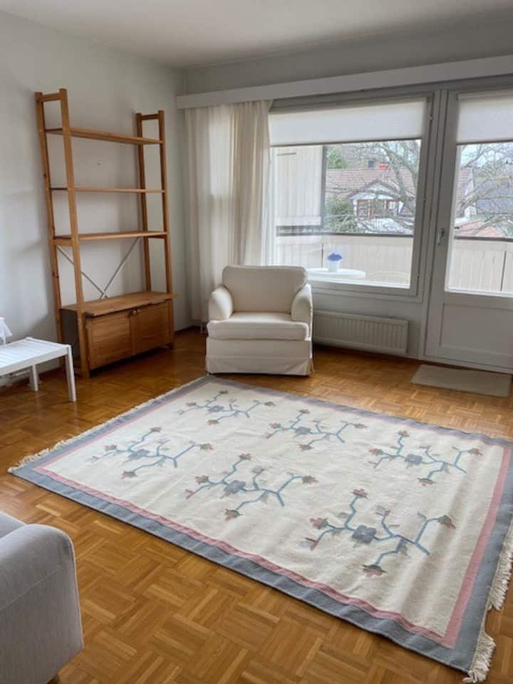 Cozy and Bright apartment in central Ekenäs