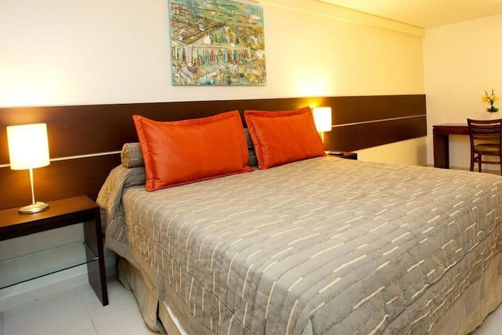 Bem vindo! Apartamento com serviço de hotel 04