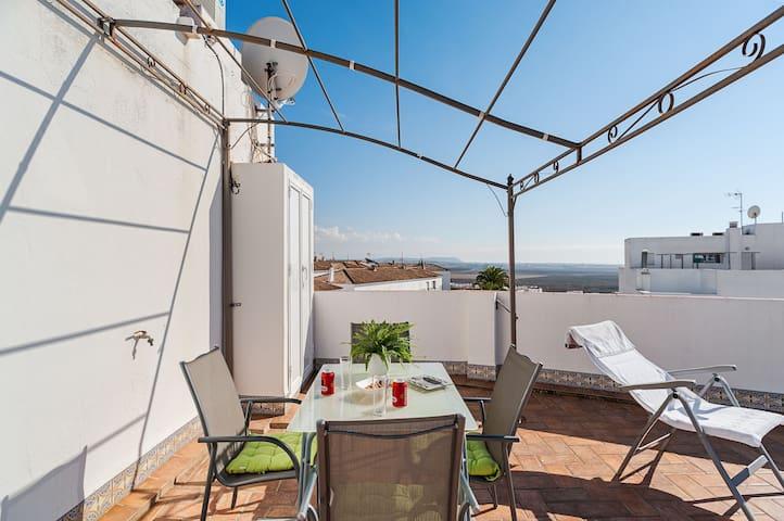 Terrace with Breathtaking Views - Apartment Sebastian