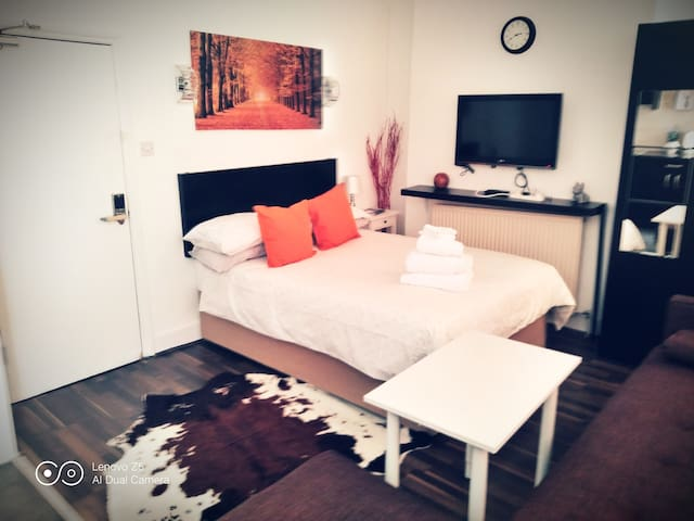 Amazing zone 2, double studio apartment, London