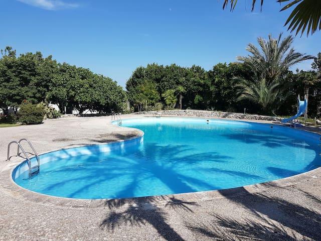 Casa con piscina in villa a Lecce! - Lecce - House