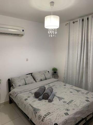 Bedroom no. 2. Include in orders with more than two guests . With tv and air conditioner
