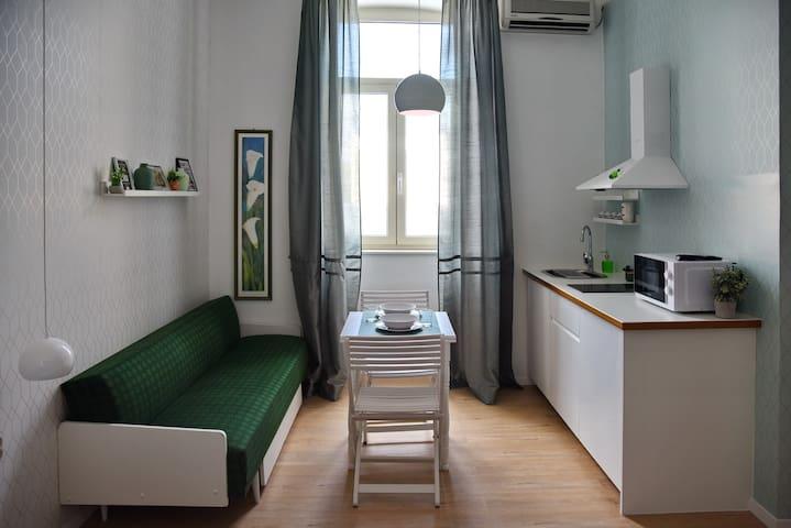 Green Market Studio Apartment