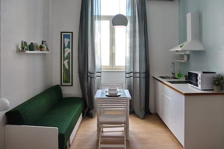 Green Market Studio Apartment