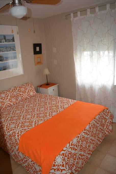 Dormitorio principal, incluye armario de 3 cuerpos