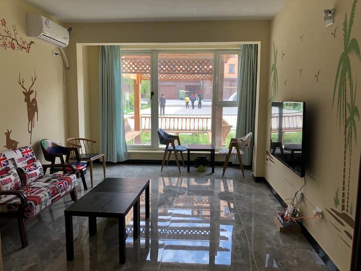 长白山西坡花园公寓3房1厅