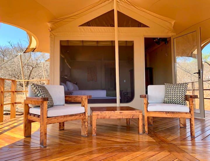 Zingela Nature Reserve - Baobab Tented Lodge