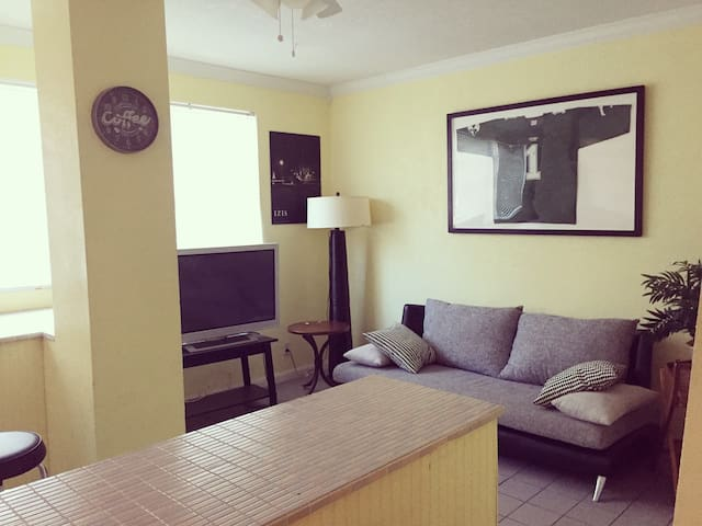 Cool 1 bedroom in the heart of Hollywood!