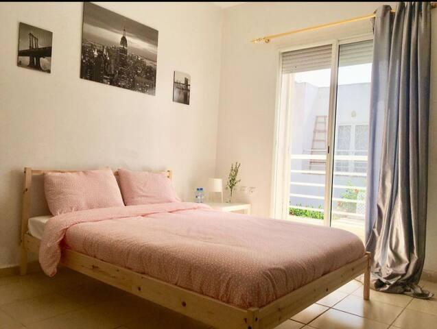 卡萨布兰卡 北非旅舍 标准大床房-公共卫浴