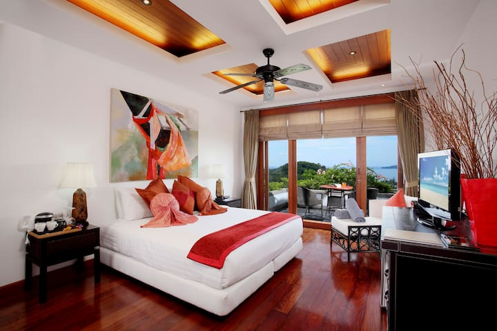 Deluxe room with amazing sea view - Bed & Breakfast