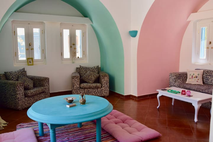 Super central boho Apartment in Downtown El Gouna