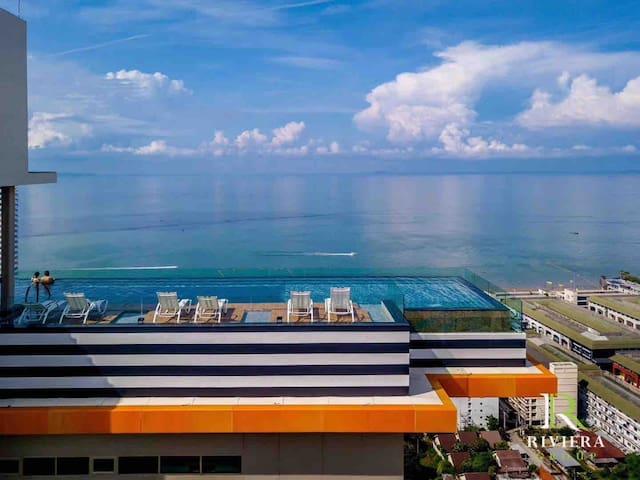The Riviera Jomtien New Condo Spacious 1BR CleanRM