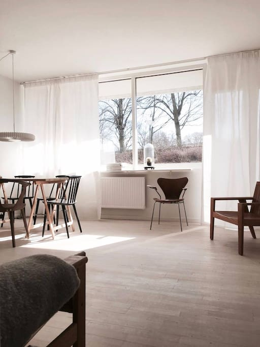 Central scandinavian design apartment apartments for for Design apartment 50m2