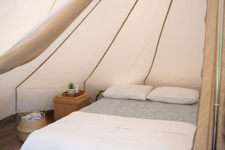 Glamping Brabant - Tipi tent met 2 slaapkamers
