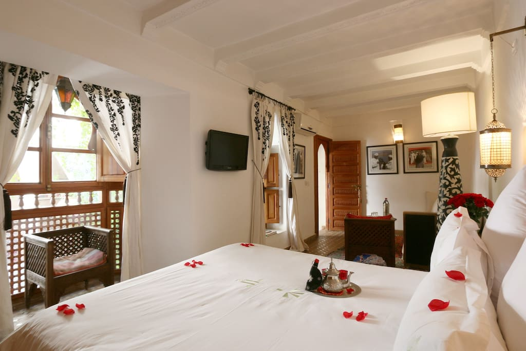Chambre romantique marrakech chambres d 39 h tes louer for Chambre d hotes marrakech