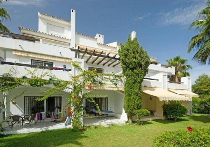SPAIN- Duplex vue mer dans residence