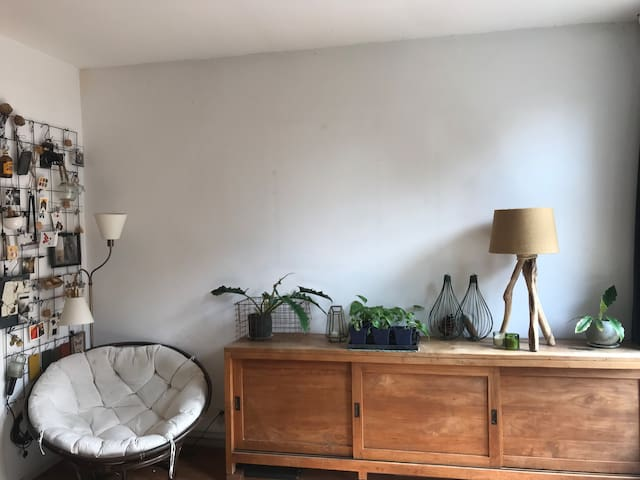 Cosy house with excellent kingsize bed in Haarlem