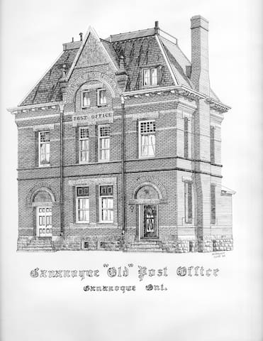 The Old Post Office Meeting Place - Gananoque - Apartemen