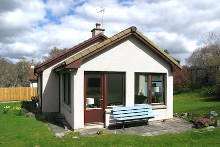 Bright and comfortable house in Nethy Bridge