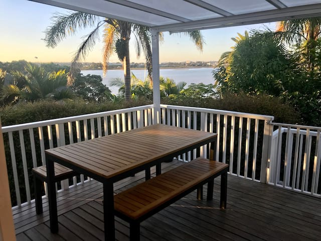 Outdoor covered deck/dining room