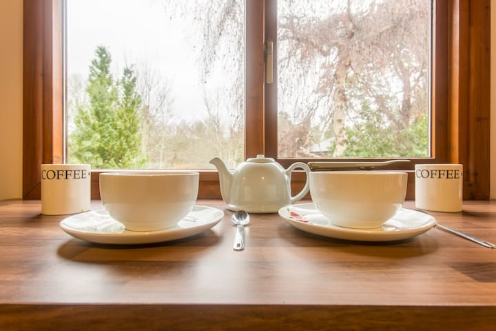 Luxurious Cosy Lodge - Blair Atholl - Pitlochry - Blair Atholl - Houten huisje