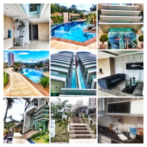 Privacidade e conforto em Manaus - Manaus  - Lägenhet