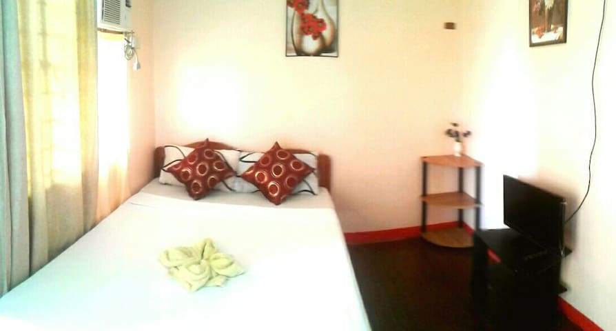Affordable Double Aircon room