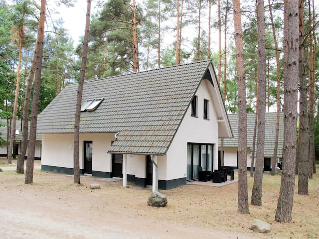 Beautiful home in the holiday resort in peaceful forest area