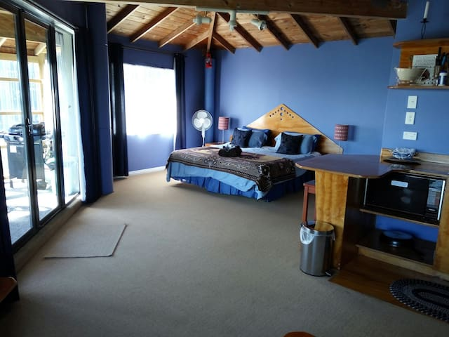 Studio Ocean View  At Whalebay - Raglan - Apartment