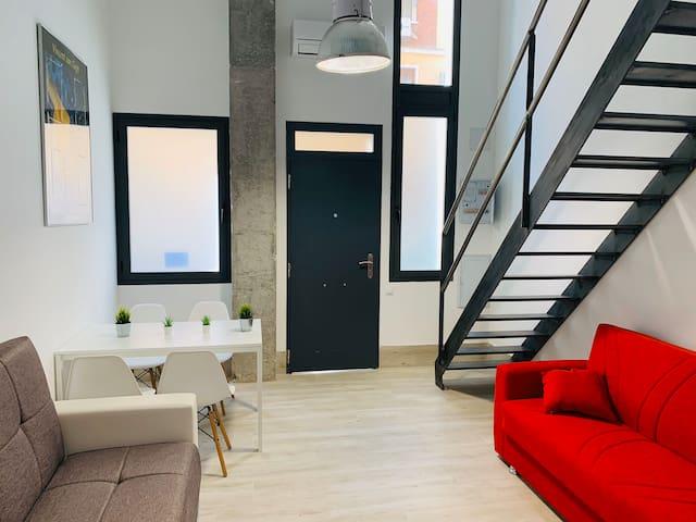 Nuevo duplex 2 zona detrás Principe Vergara