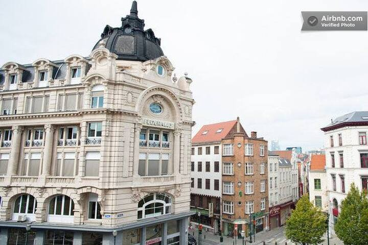 Cozy apt at the heart of brussels - Bruxelles - Lakás