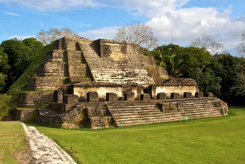 Altun Ha Maya Ruin. We are very close to this tourist attraction. Only 25 minutes away.