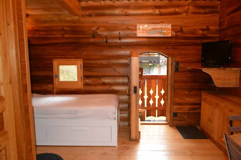 따뜻한 작은 전원주택
