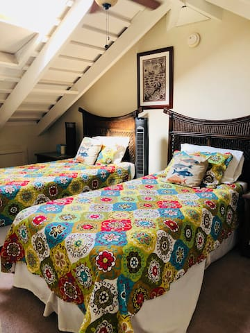 Loft with 2 Twin XL beds
