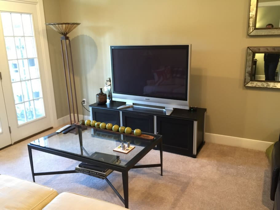 """Large 50"""" Plasma TV with Cable"""