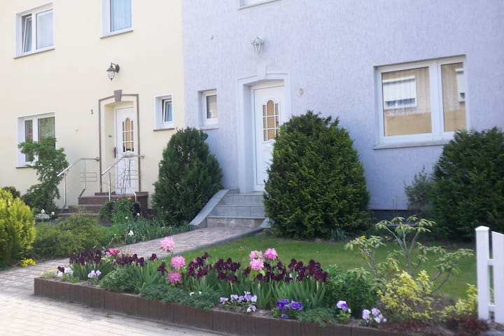 Centrally located apartment in Wismar