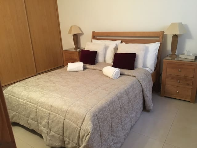 Lower floor double bedroom, with private shower room, built in wardrobes