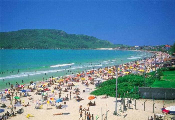 2 Quartos p/ 1 ou 2 pessoas a 50m do mar - Florianópolis  - Appartement