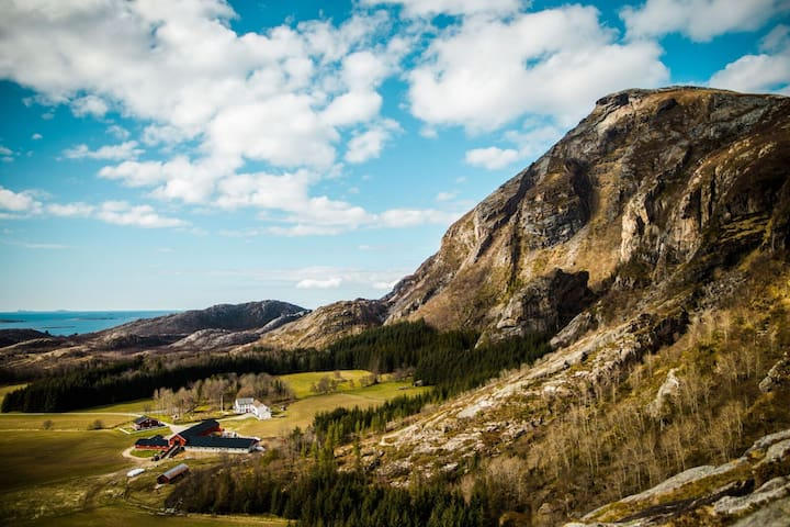 Lurøy gård- kårstua
