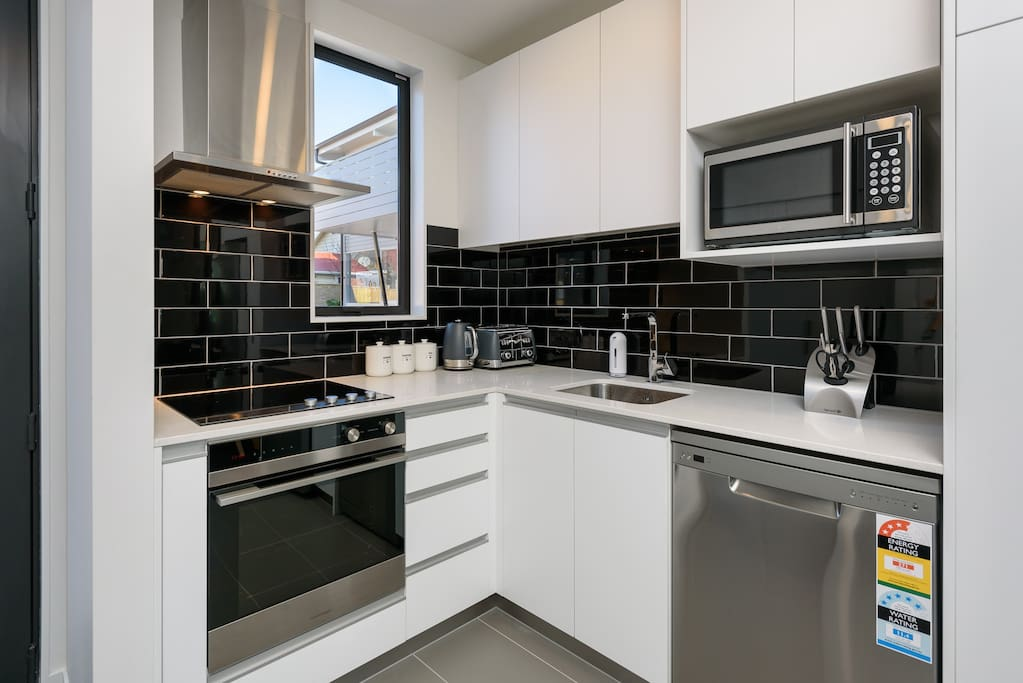 Amazing brand new kitchen which is equipped with absolutely everything that is needed