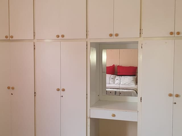 A private ensuite bedroom.