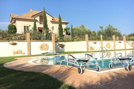 A Private Villa W/pool Luxury Stay! - Piazza Armerina