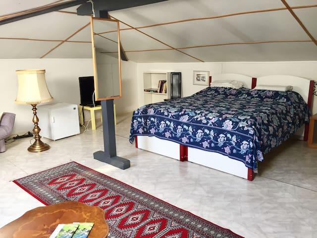 Deliziosa mansarda a Locarno, Ticino-Lago Maggiore - Locarno - Apartament