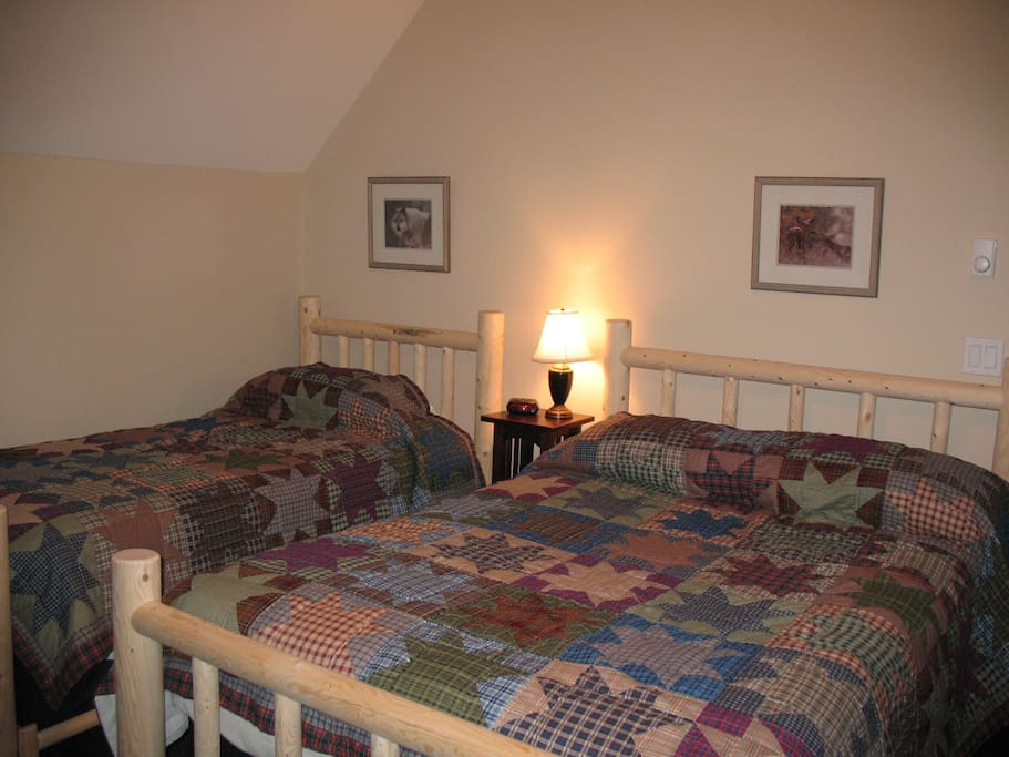 2 Upstairs Bedrooms are identical