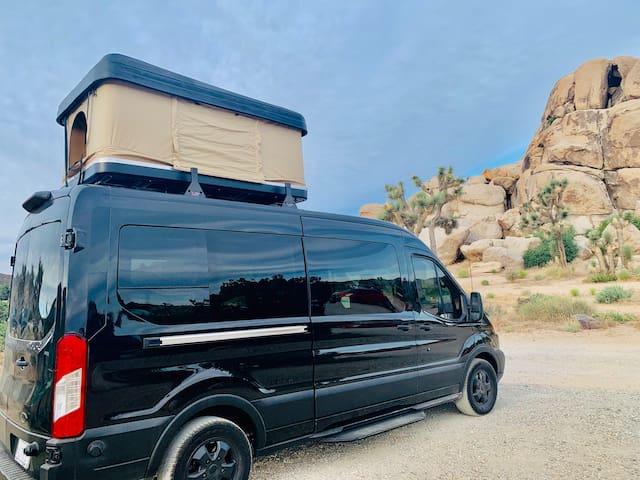 Adventure Out Loud Custom Camper Sprinter Van