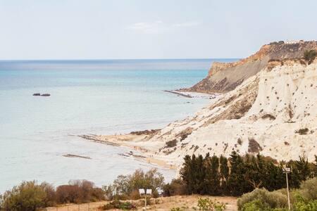 la terrazza sul mare (camera 4) - Realmonte