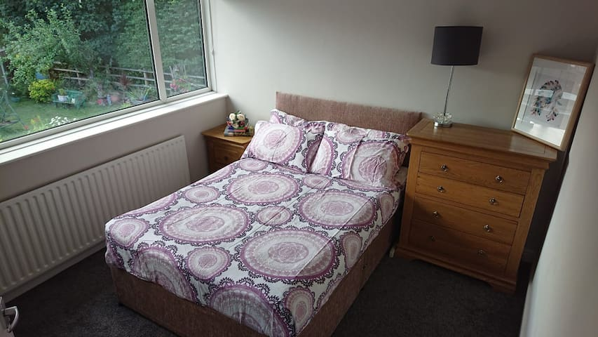 Private double room in Thornes, Wakefield