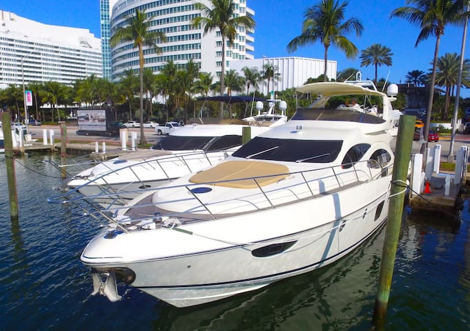 Luxury Yacht For Rent - Miami (68' Azimut)