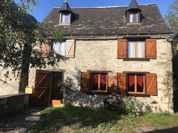 Maison au cœur du Parc National des Pyrénées.